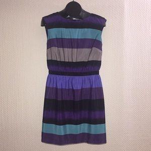 👗 Loft Petite Medium strip Dress 👗